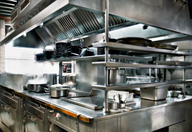 Stainless Steel Kitchen Exhaust Hood Cleaning in San Diego, Orange, Riverside, Southern California